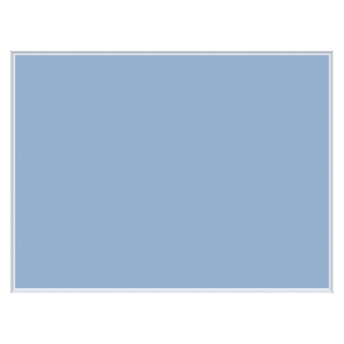 全商品2~10倍ポイント17日23時59分まで/代引不可 馬印 メーカー直送品 壁掛け用ワンウェイ掲示板 ブルー 外寸:横1210×縦910×厚18mm