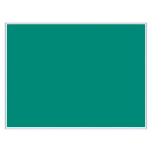 馬印 壁掛け用ワンウェイ掲示板 グリーン 外寸:横1210×縦910×厚18mm