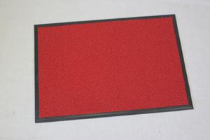 クラウン フロアマット クッション付・塩ビ製 外寸:横1200×縦900mm(赤)