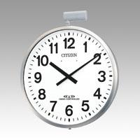 全商品2~10倍26日23時59分まで/シチズン 掛時計 パルウェーブM611B(屋外用)