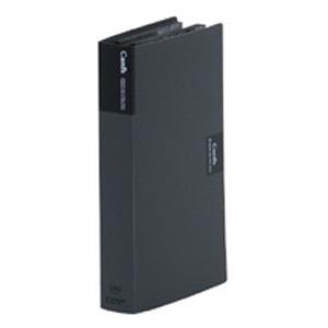 ¥5 ファクトリーアウトレット 000以上送料無料 キングジム カードホルダー カーズ ファッション通販 黒 溶着式 ヨコ方向 1列3段