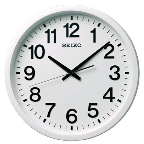 全商品2~10倍ポイント大還元セール開催中/セイコー セイコークロック 衛星電波時計 掛時計(白)