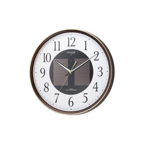 【ふるさと割】 リズム時計リズム時計 エコライフM807(茶色), ワタナベ楽器 楽天SHOP:99994dc4 --- canoncity.azurewebsites.net
