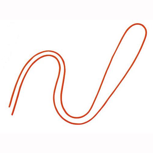 ¥5 000以上送料無料 2020 新作 全商品ポイント2~10倍12日23時59分まで 送料無料 激安 お買い得 キ゛フト オープン 名札用パーツ 丸紐 橙 蛍光色