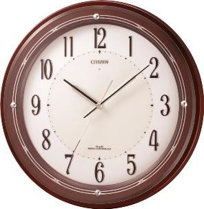 エントリーでポイント5倍9日1時59分まで/リズム時計 サイレントソーラーM796(茶色)