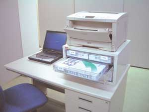 山金 良質空間良質空間プリンター用紙収納台(ウォームホワイト)