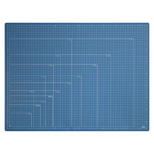 発売モデル ¥5 000以上送料無料 正規品送料無料 全商品ポイント2~10倍4日20時より ナカバヤシ ブルー A2 折りたたみカッティングマット