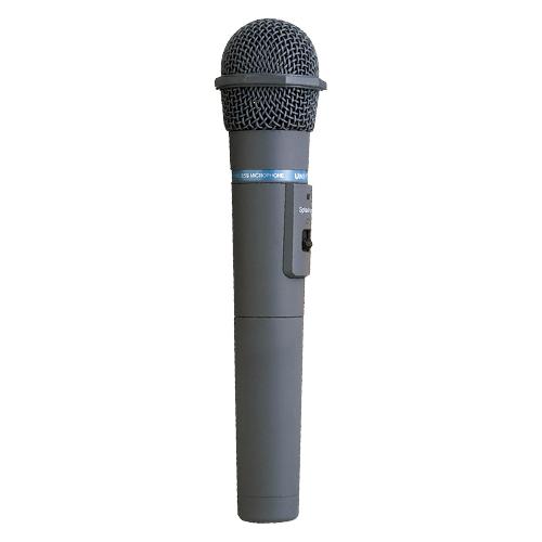 ユニペックス ワイヤレスマイク (300MH帯)(ストーンシルバー調)