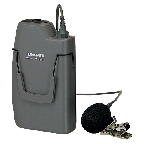 ユニペックス ワイヤレスマイク (300MHz帯)(ストーンシルバー調)