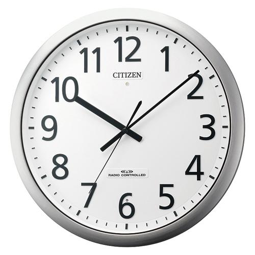 全商品ポイント2~10倍21日20時より/シチズン 電波時計 パルフィス484(銀色ヘアライン)
