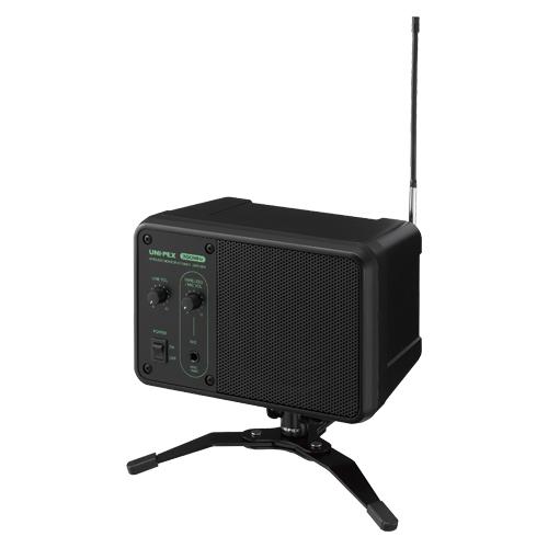 ユニペックス ワイヤレスモニタースピーカー(ブラック 艶消し)