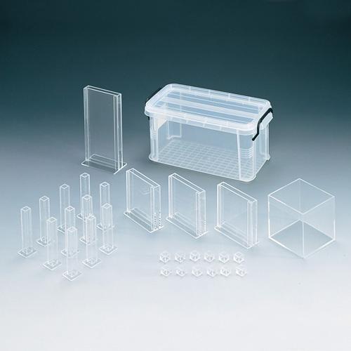 共栄プラスチック 小数・分数水槽セット+分数カラータイルセット