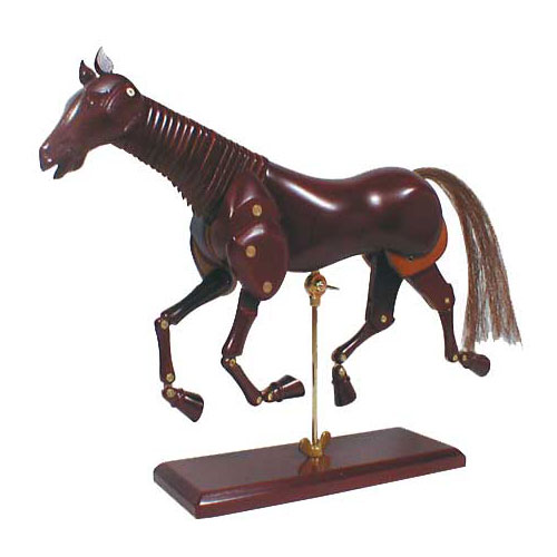 ホルベイン画材 マネキン 馬のモデルNo.3