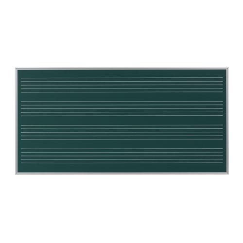 馬印 スチールグリーン 五線黒板