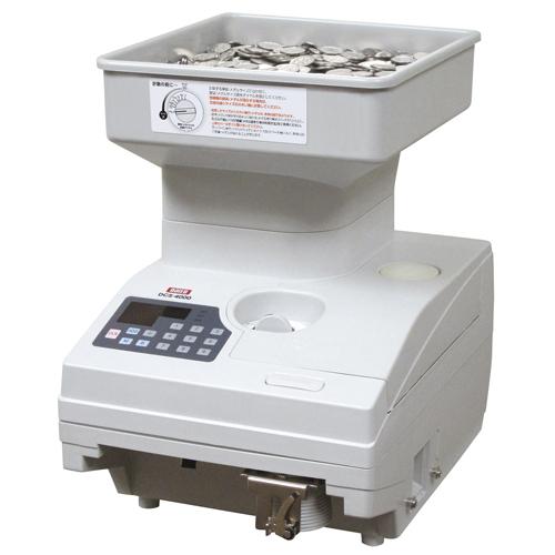 エントリーで全商品ポイント5倍開催中/ダイト 硬貨計数機 DCS-4000(グレーホワイト)