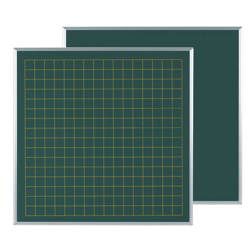 代引不可 馬印 メーカー直送品 スチールグリーン方眼黒板 表50/裏無地