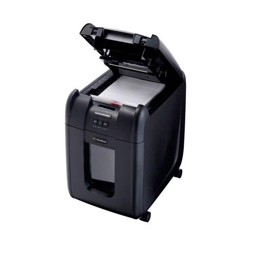 アコ アコ・ブランズ・ブランズ オートフィードシュレッダ マイクロ200AFM-B マイクロクロスカット 対応サイズ:A4 容量:32L(ブラック), スーツケースワールド:fee12876 --- knbufm.com