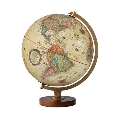 リプルーグル 地球儀 パノラマ・アンティーク(英語版)