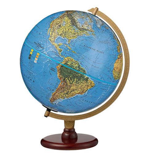 リプルーグル 地球儀 カーライルブルーオーシャン地図(英語版)