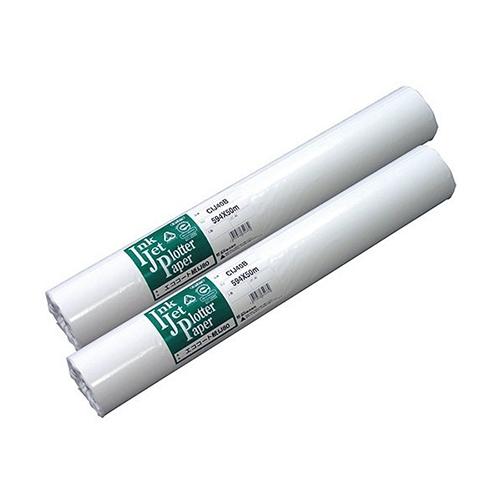 GWセールP2~10倍開催中/桜井 エココート紙IJ80 インクジェット用紙 100m巻 80g/m2 841X100M 2本