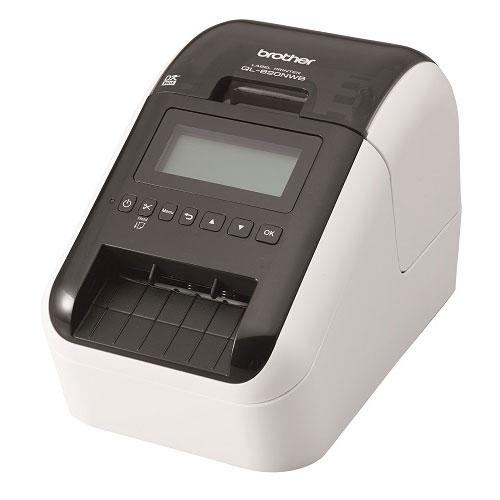 送料無料 全商品2~10倍9日20時より セール特価品 ブラザー 最安値 感熱ラベルプリンター ホワイト QL-820NWB ブラック
