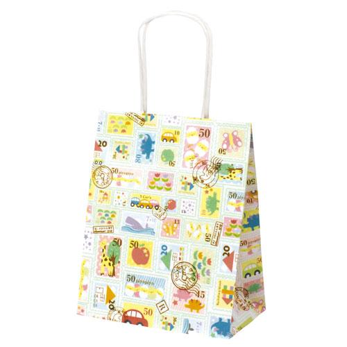 ¥5,000以上送料無料  ササガワ 手提げバッグ プチスタンプ 小 50枚袋入り