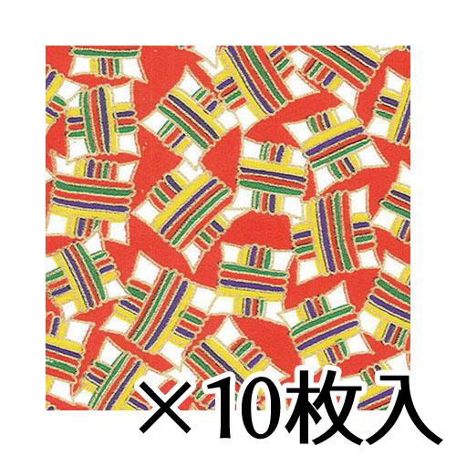 ¥5,000以上送料無料  トーヨー 和紙千代紙(B4) No.6 1セット(10枚入) 36.1X25.7cm/枚