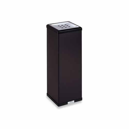 テラモト 消煙灰皿 灰皿容量:約3L(黒)