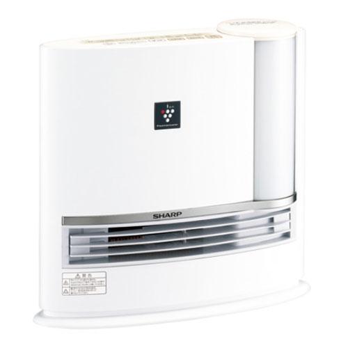 代引不可 シャープ 加湿セラミックファンヒーター HX-H120-W(ホワイト)