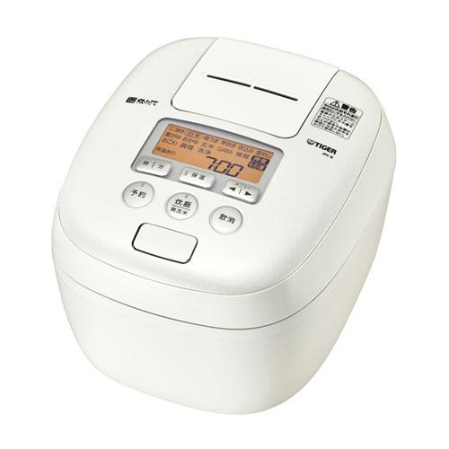 タイガー 圧力IH炊飯ジャー炊きたて 炊飯器 5.5合炊き JPC-B102-WM(ミルキーホワイト)