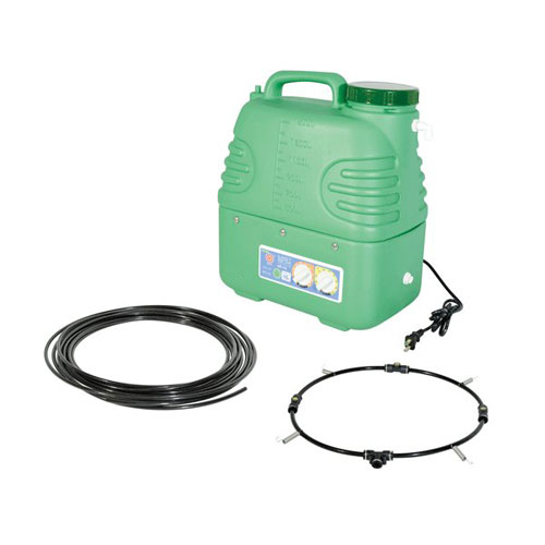 代引不可 レックス ミストボックス15L 工場扇用 空調改善 熱中症対策