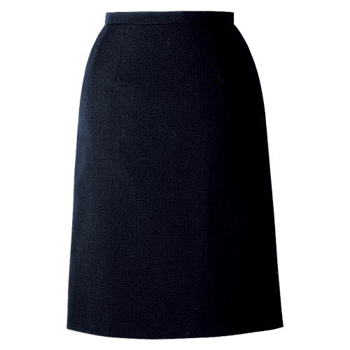 カンセン オフィスウェア プリーツスカート サイズ:7号 胸囲61cm,ヒップ92cm,ベルト下前丈53.5cm(ネイビー)