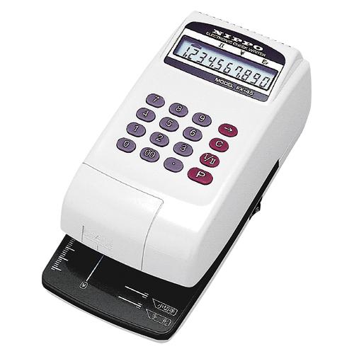 NIPPO チェックライター FXー45(スノーホワイト&ブラック)