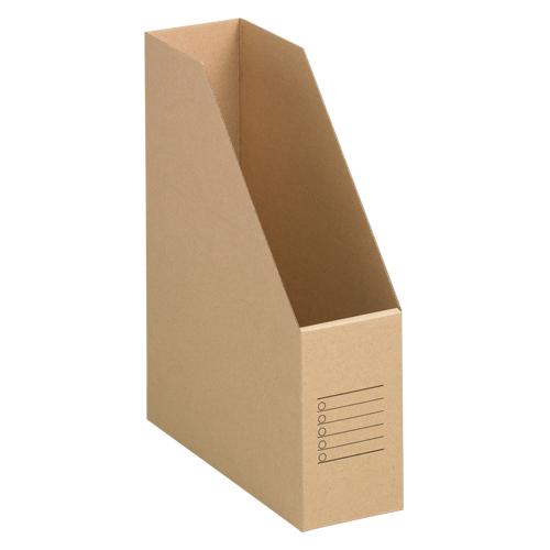 ¥5,000以上送料無料  全商品ポイント2~10倍26日23時59分まで/ 山田紙器 ファイルカートン A4判タテ型(収納幅80mm)10個入(無地)