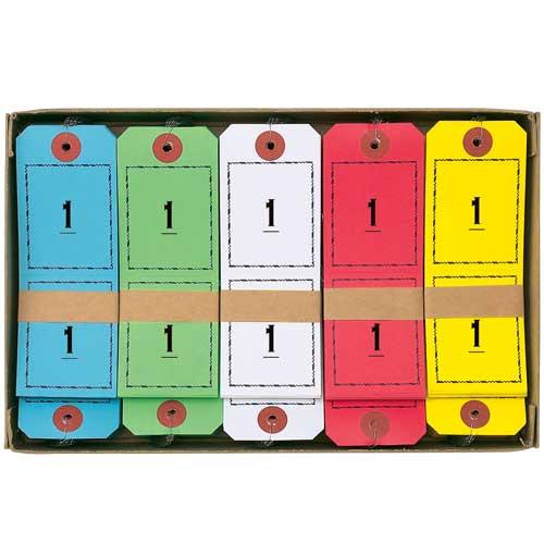 ¥5 000以上送料無料 全商品ポイント2~10倍12日23時59分まで AL完売しました。 オープン 1~100 連番荷札 全店販売中 青,赤,黄,緑,白,各1組