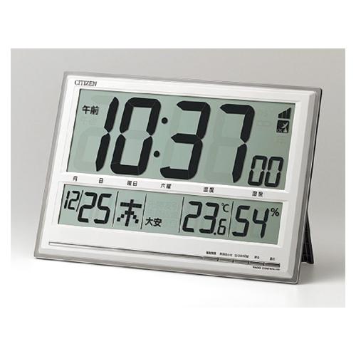 全商品2~10倍26日23時59分まで/シチズン 掛・置兼用時計 電波時計 8RZ199-019