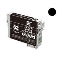 代引不可¥5,000以上送料無料  代引不可 エコリカ インクジェットカートリッジ エコリカ ECI-E62B (ICBK62) エプソン用 リサイクル HWER461