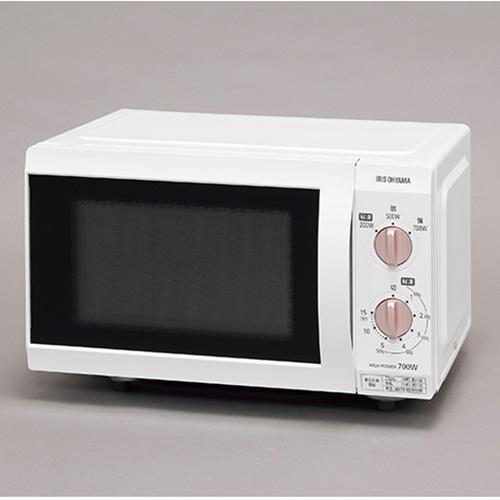 GWセールP2~10倍開催中/アイリスオーヤマ 電子レンジ フラットテーブル(ホワイト)