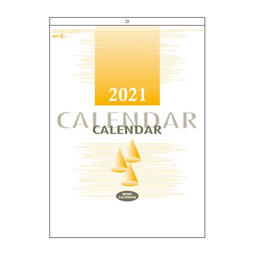 全商品2~10倍26日23時59分まで/代引不可 2021年 文字カレンダー エコカレンダー 法人限定 名入れ代無料 100冊単位 140