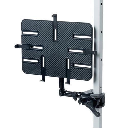 送料無料 サンワサプライ 感謝価格 サンワサプライ直送 iPad ブラック 9.7~13インチ対応 クランプ式 タブレット用支柱取付けアーム 特価