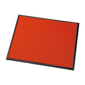クラウン フロアマット クッション付・塩ビ製 外寸:横900×縦750mm(赤)