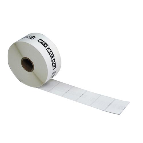 マックス ラベルプリンタ専用ラベル 通常・連続発行用ラベル(50巻入) ラベルサイズ:幅40×ピッチ28mm