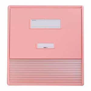 リヒトラブ カードインデックス A3 11ポケット(ピンク)