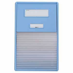 リヒトラブ カードインデックス A4 21ポケット(ブルー)