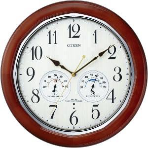 全商品ポイント3倍WEEK 開催中/リズム時計 電波掛時計 ネムリーナインフォートW