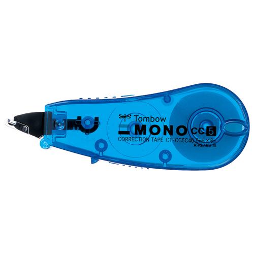 ¥6,000以上送料無料  全商品ポイント3倍開催中/トンボ鉛筆 修正テープ モノCC5C 幅5.0mm(ブルー)