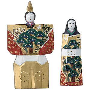 呉竹 墨 奈良人形墨セット 22.0丁型