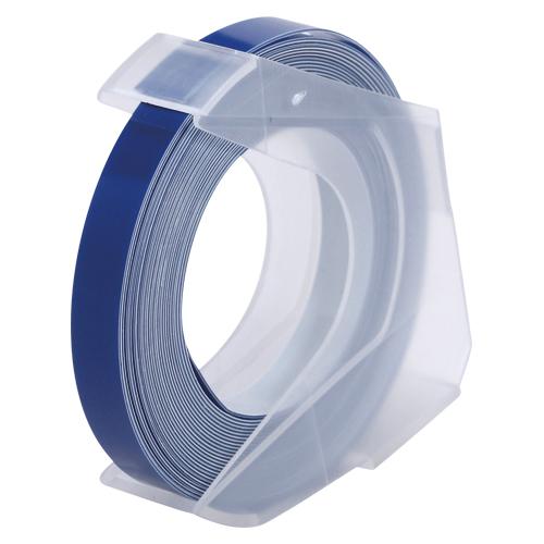 ¥6,000以上送料無料  全商品ポイント3倍20日1時59分まで/ オリエント・エンタプライズ マシューズテープ6ミリブルー ダイモ用テープ(青)