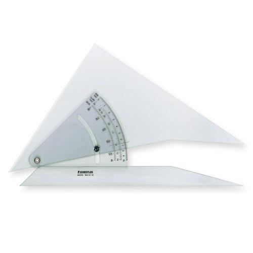 ¥6,000以上送料無料  ステッドラー マルス 勾配三角定規 30cm 30cmX3mm