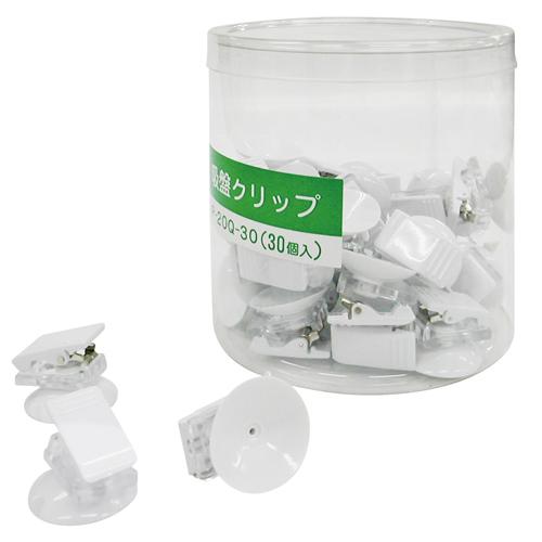¥6,000以上送料無料  共栄プラスチック クリックス吸盤付(ホワイト)
